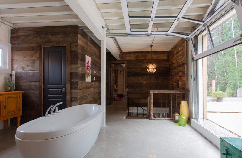 Shipping Container Interior Bathroom