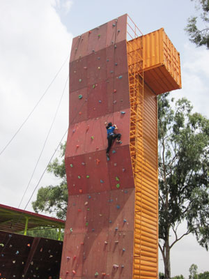 Climbing Wall External