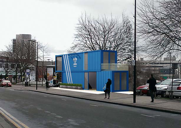 Retail Leisure & Branding using Container Based Structures