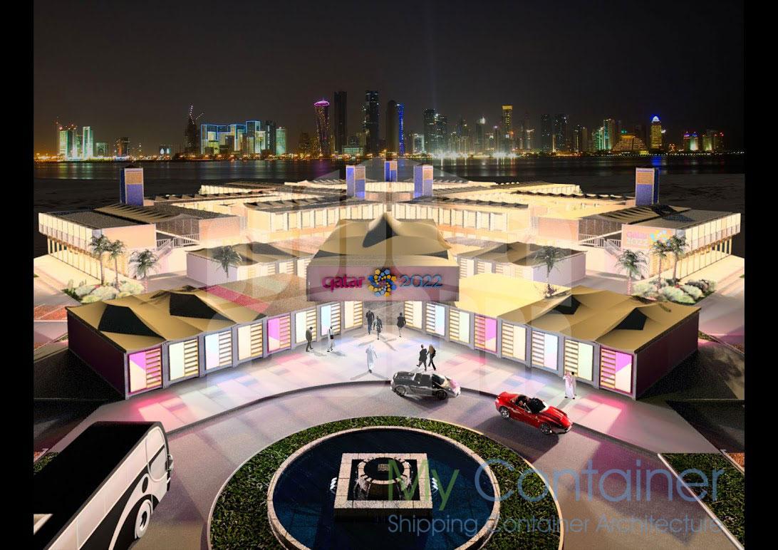 Qatar-Entrance-Night-Time