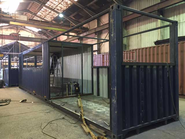 krynkl kelham island shipping container