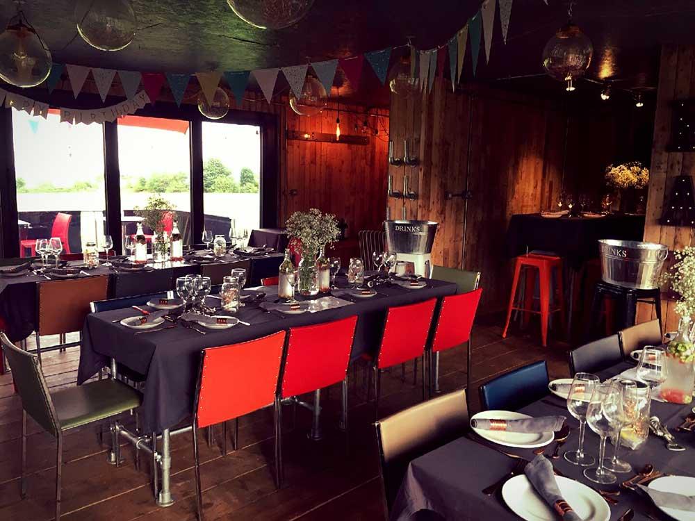 reserved cafe bistro interior dining