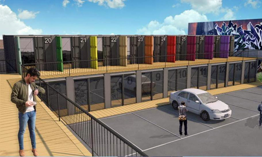Steel Yard Kelham Render