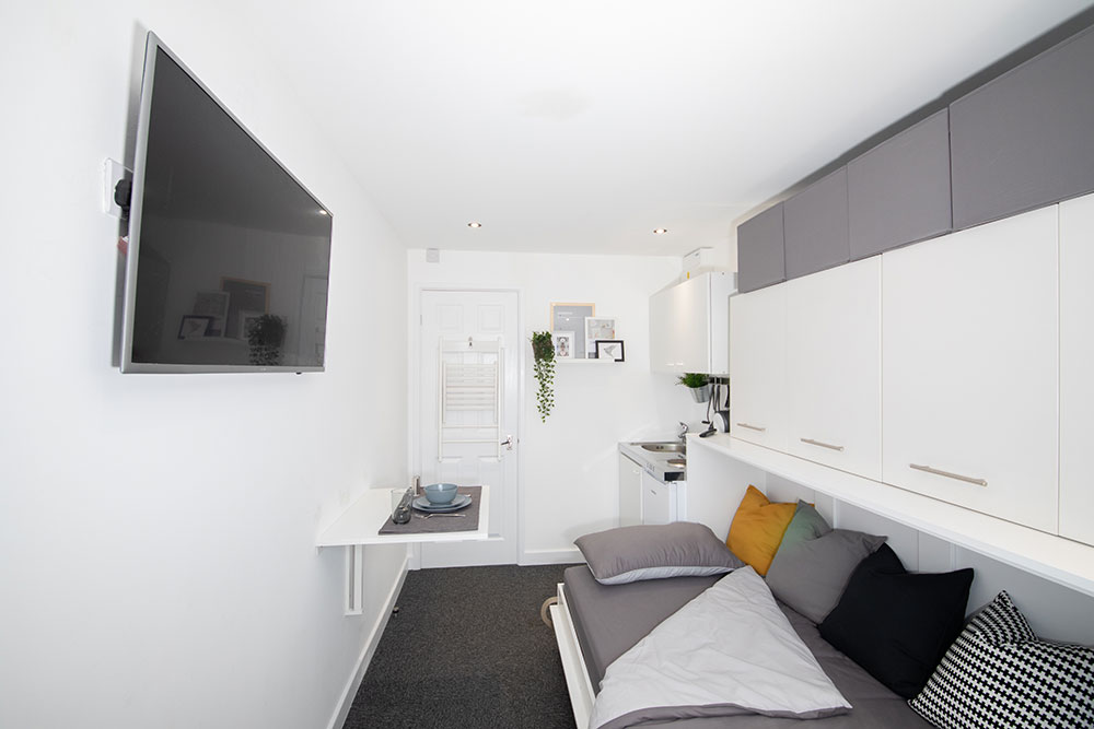 Sleeper Unit Interior