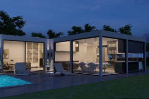Luxury Villa Palma Mallorca Shipping Container