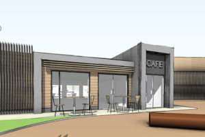 Salford FC Turn Moss Manchester Planning Drawings Cafe
